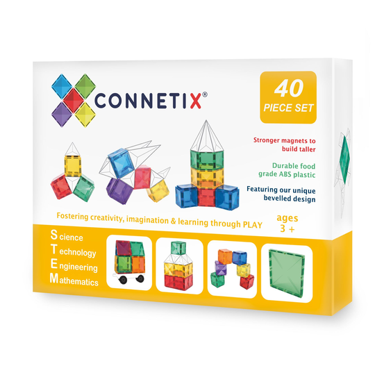 Connetix - 40pc Tiles