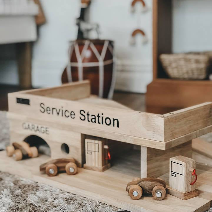 Raw Timber Service Station