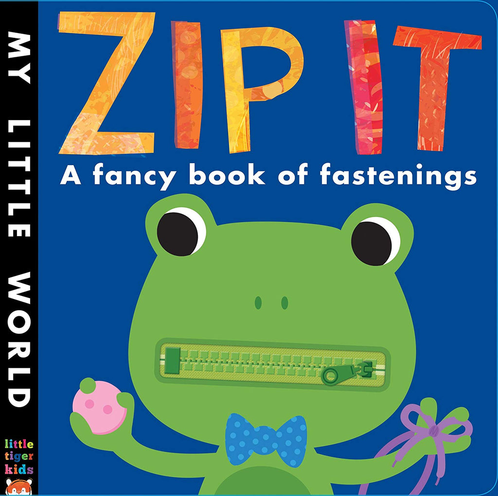 Zip It! a fancy book of fastenings
