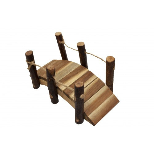Qtoys - Natural Wooden Bridge
