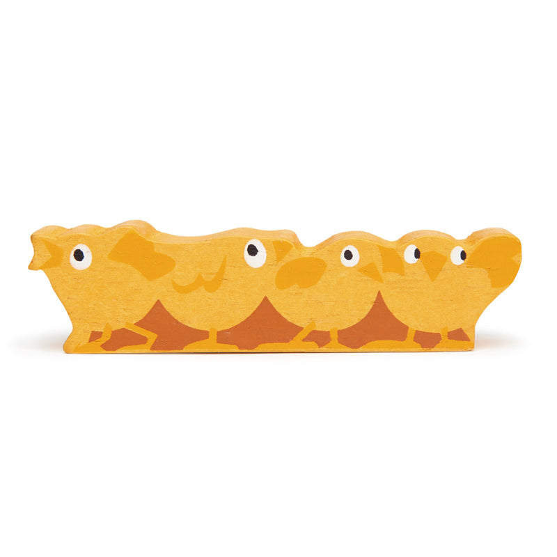 Chicks Wooden Animal