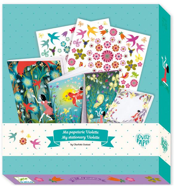 Djeco - Violette Stationary Pack