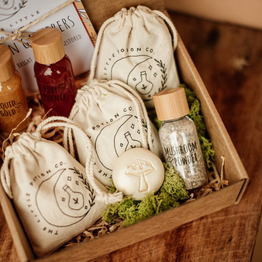 The LIttle Potion Co - Garden Gatherers Potion Kit