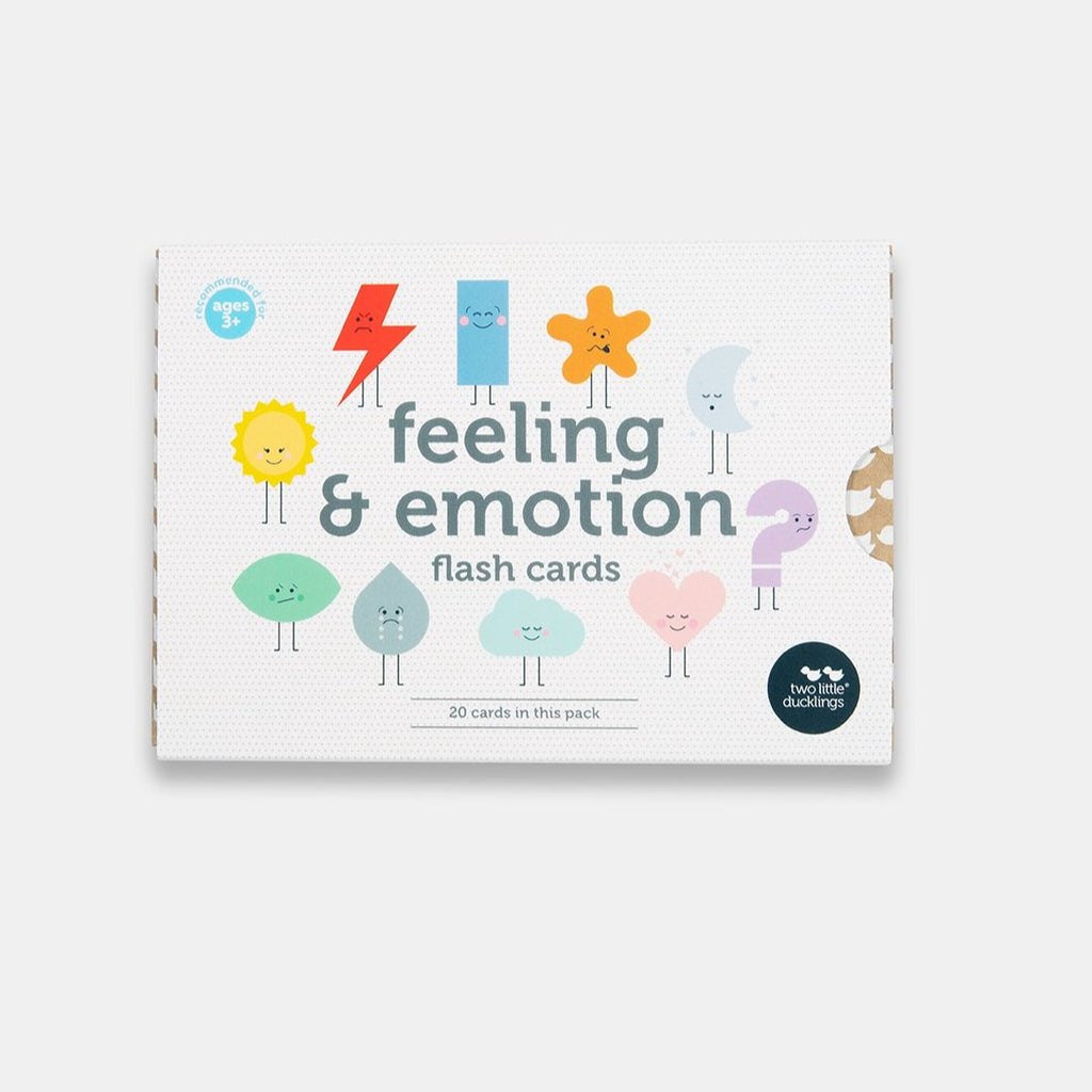 Two Ugly Ducklings - Feeling and Emotion Flash Cards