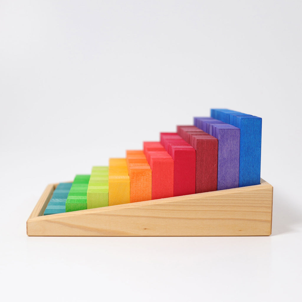 Grimms - Small 100 Step blocks from 1-10 cm