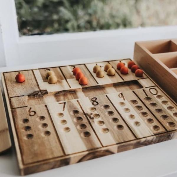Natural Counting Board
