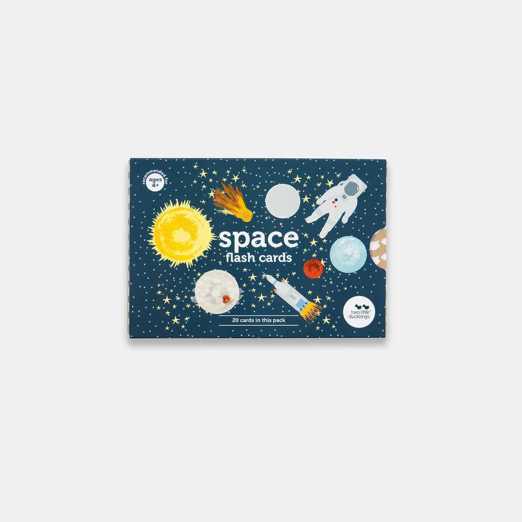 Two Ulgy Ducklings - Space Flash Cards