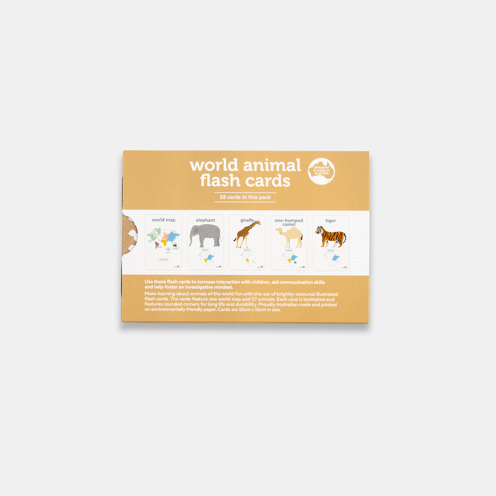 Two Ugly Ducklings - World Animals Flash Cards