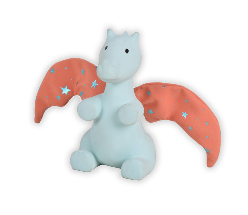 Triki Fairytales DRAGON Teether and Crinkle Toy