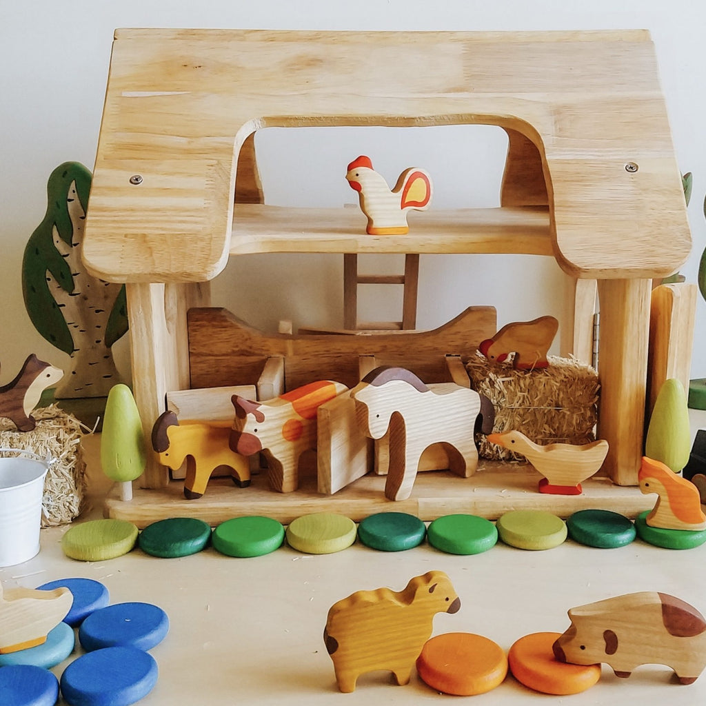 Q-Toys Horse Stable