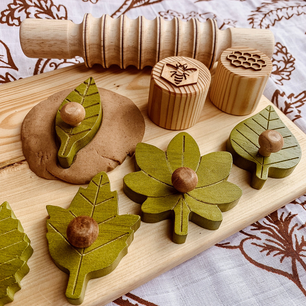 Qtoys - Montessori Leaf Puzzle