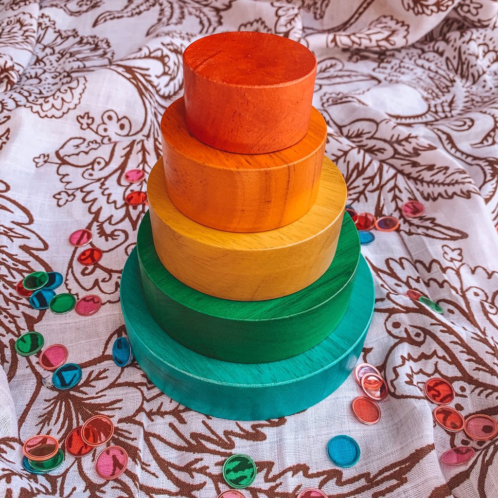 Rainbow Nesting andStacking Bowl