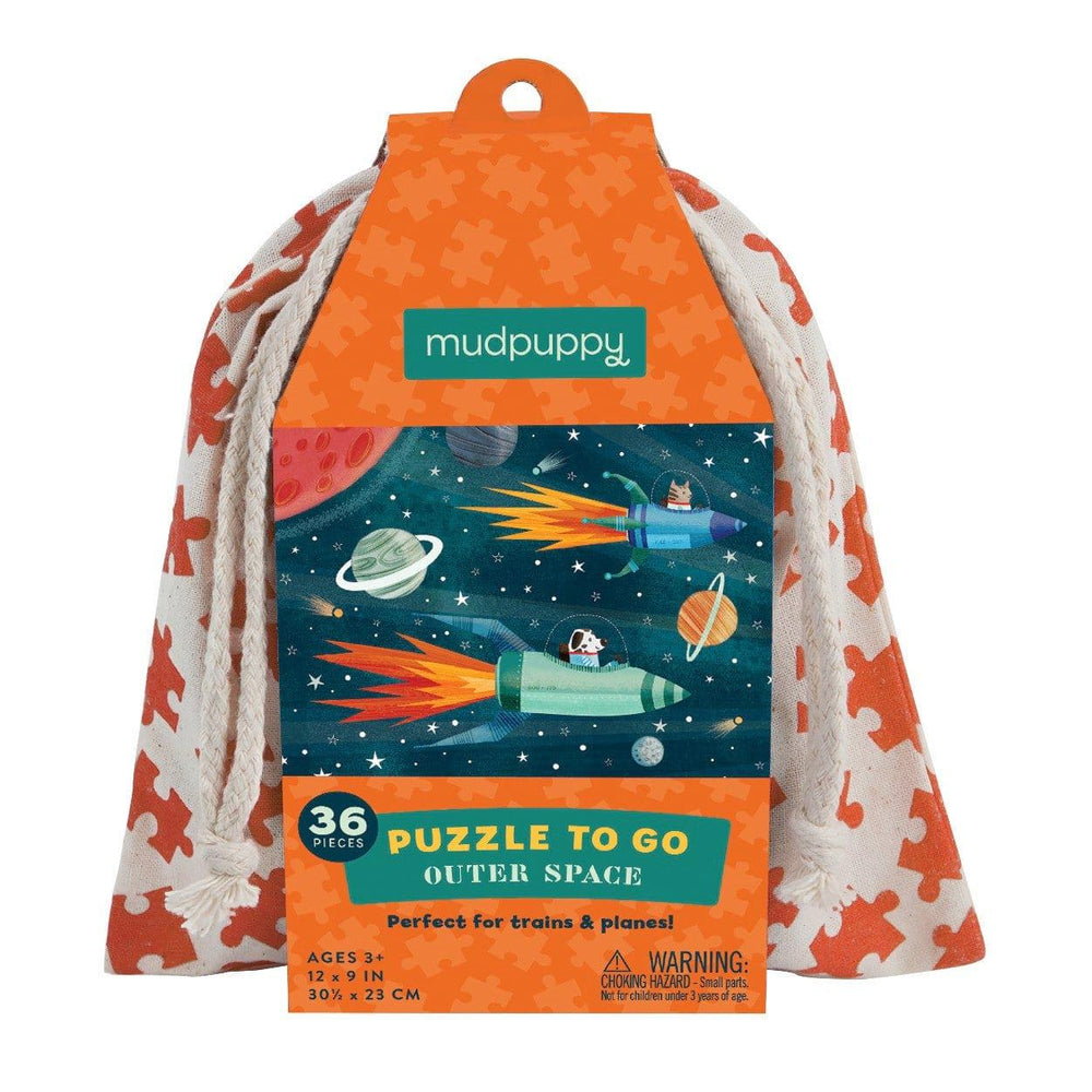 Mudpuppy 36 pc To Go Puzzle - Outer Space