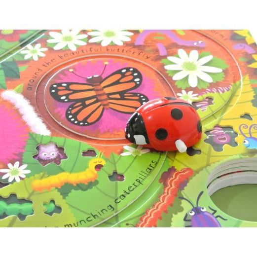 Wind Up Ladybird- Tracks in a Book