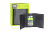 Slim RFID Wallet for Men Genuine Leather Front Pocket Trifold
