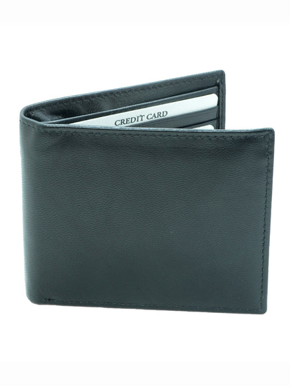 Men's RFID Wallet, Bifold Top Flip, Extra Capacity Travel Wallet - christmasgiftbuy