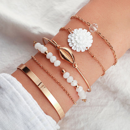 Multi Layer Bracelet Set