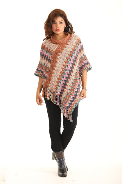 Boho Wrap Cardigan Sweater