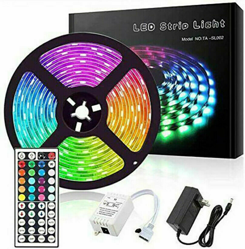 Led Strip Lights 16.4ft RGB Led Room Lights With Color Changing