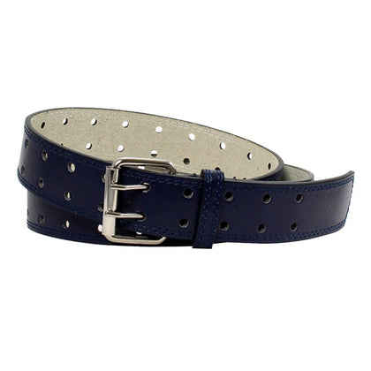 Men's Double-prong Leather Belt