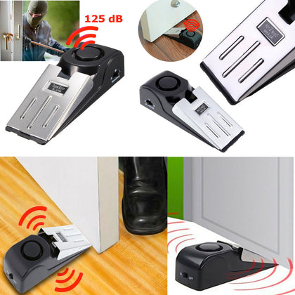Door Stops Security Alarm Extra-Loud Personal Security and Safety - christmasgiftbuy