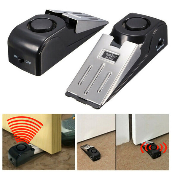 Door Stops Security Alarm Extra-Loud Personal Security and Safety