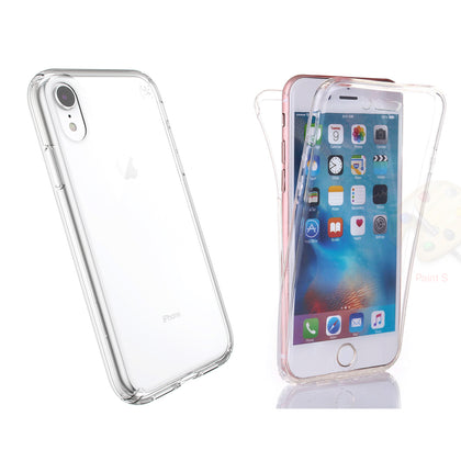 Slim Transparent Protective Case Front and Back (360) for iPhone® X/XS, XR & XS Max - christmasgiftbuy