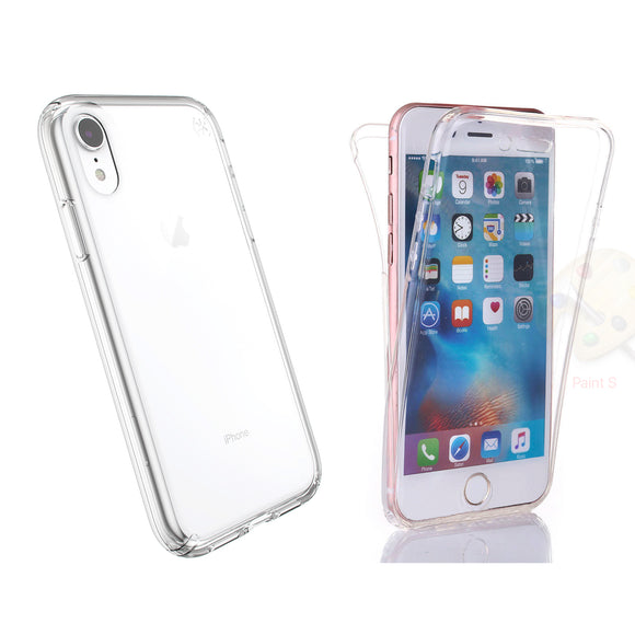 Slim Transparent Protective Case Front and Back (360) for iPhone® X/XS, XR & XS Max