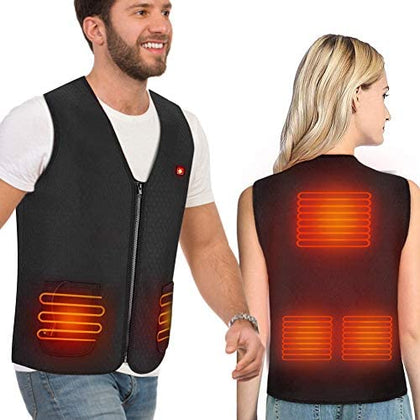 Body Warmer Electric Heated Vest Jacket for Women
