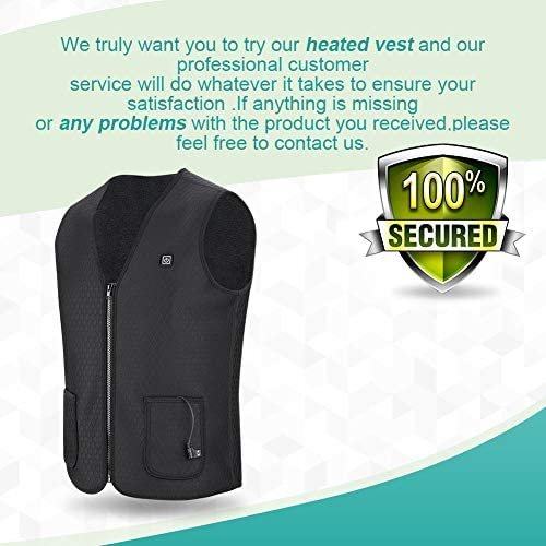 Body Warmer Electric Heated Vest Jacket for Women and Men USB Charging