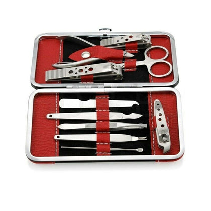 Manicure Set Nail Clippers Cleaner