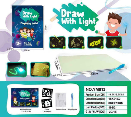 Draw With Light Kids' Learning