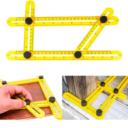Angle Measuring Tool Angle-Izer Ruler Multi-Angle Easy Template Instrument Slide - christmasgiftbuy