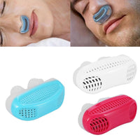 Anti-Snoring Sleep Apnea Nasal Device with Protective Case - Assorted Colors - christmasgiftbuy