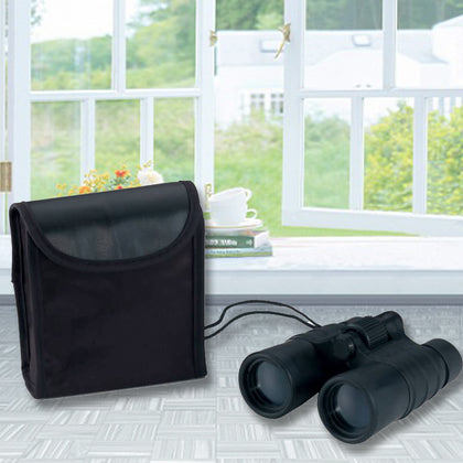 Magnacraft 4x30 & 5X30 High-Powered Binoculars & Carrying Case - christmasgiftbuy