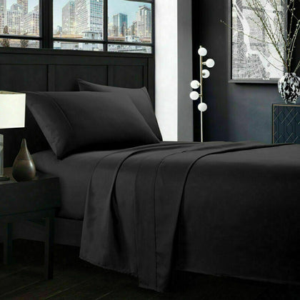 4 Piece Deep Pocket Bed Sheet Set