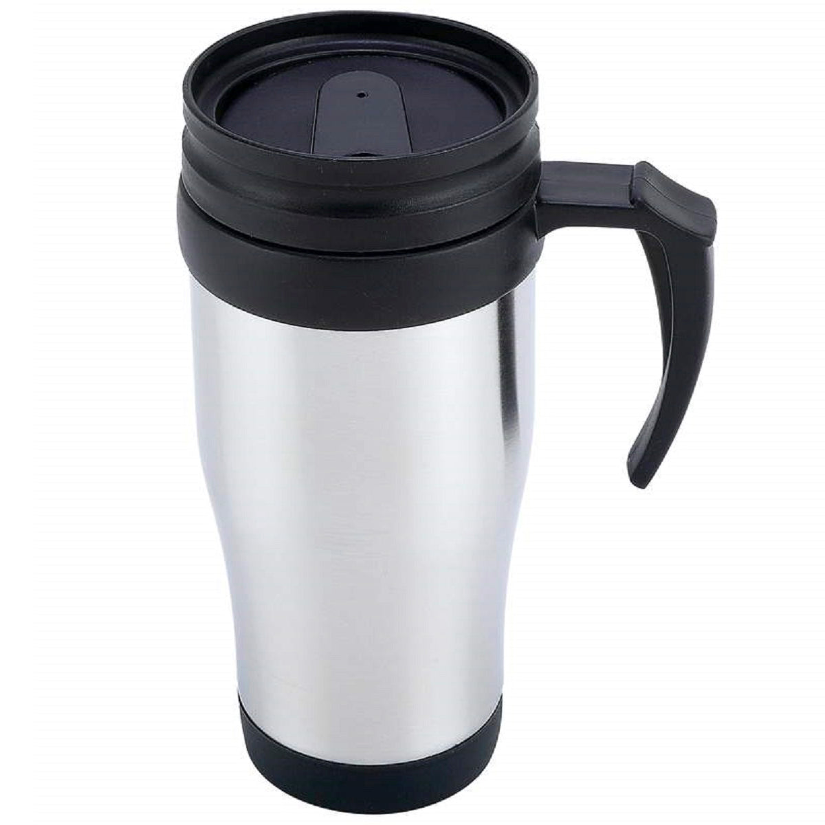 Stainless Steel Lined Travel Mug with Handle, 16oz