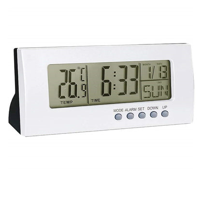 Digital Alarm Clock with Calendar & Temperature Readings - christmasgiftbuy