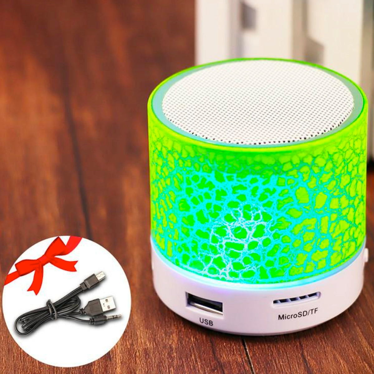 Wireless Bluetooth v2.1 Speaker with USB & SD Card
