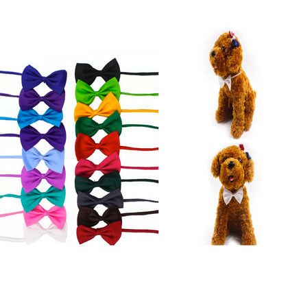 5-Pack: Fashion Bow Ties for Dogs & Cats - christmasgiftbuy