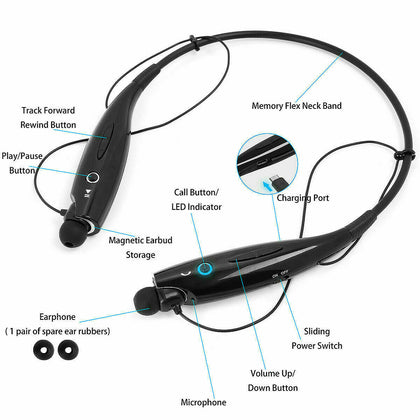 Bluetooth Wireless Headphones Headsets