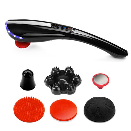 Handheld Electric Massager Back Neck Foot Vibrating Therapy Machine - christmasgiftbuy