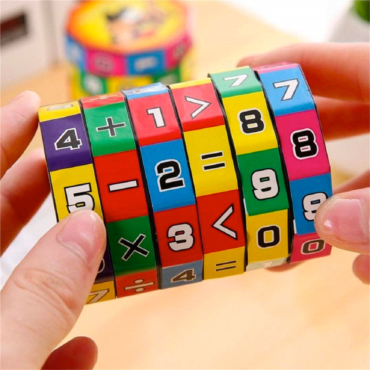 Kids Toy Magic Numbers Mathematics Learning Puzzle Calculation