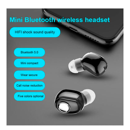Mini In-Ear Wireless Bluetooth  Earbuds Earphones Stereo Headset 5.0 - christmasgiftbuy
