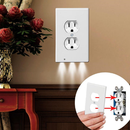 LED Night Light Outlet Cover - Assorted Styles