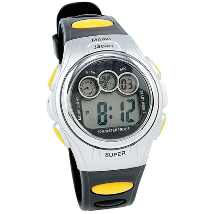 Men's Waterproof Digital Sports Watch with Date, Stop Watch & Light