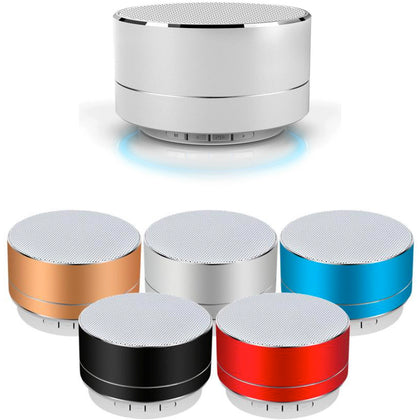 Mini Portable Wireless Bluetooth v4.1 Speaker with Super Bass - Assorted Colors - christmasgiftbuy