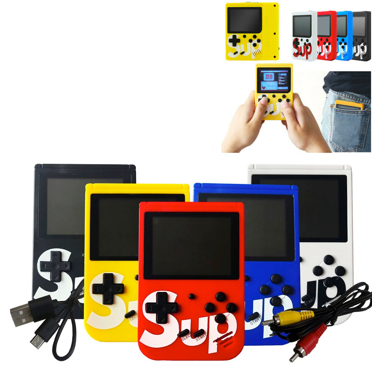 Mini TV Handheld Video Game Box Console Retro NES 2019 PXP3