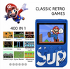 SUP Game Built in 400 Classic Games Mini TV Handheld Video Game Box Console Retro NES 2019 PXP3