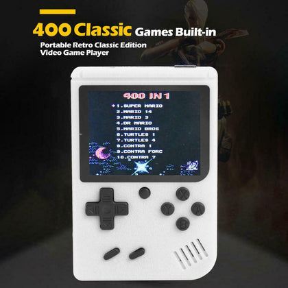 400 Classic Games Mini TV Handheld Video Game